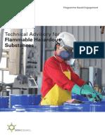 Tech Advisory - Flammable Hazard