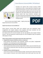 Konsultan Penyusunan HR Scorecard - KPI - HR Dashboard - HRM Consulting