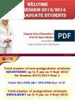 Speech for Graduate Students 120132014