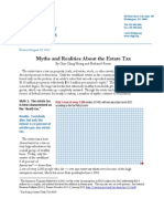 Estate Tax Myths