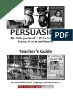 Persuasion Teacher
