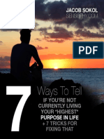 7 Ways to Tell if Your on Purpose