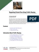 Regulating Packet Flow Using Traffic Shaping