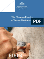 The Pharmacokinetics of Equine Medications