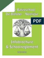 Schoolbrochure VB de Bolster Neerijse 2013 2014