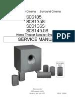 SCS135 136SI 145S Service Manual