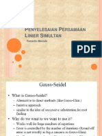 Metode Gauss Seidel