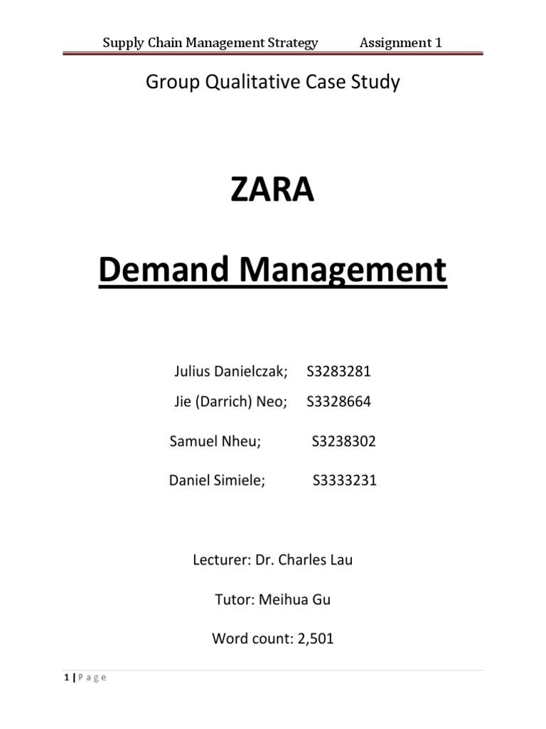 strategic groups zara