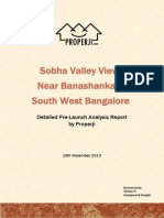 Sobha Valley View Pre-Launch Analysis