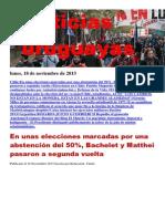 Noticias Uruguayas Lunes 18 de Noviembre Del 2013