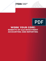 BENEFITS OF SaaS INVESTMENT ACCOUNTING AND REPORTING