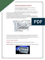Sistema de refrigeración del motor
