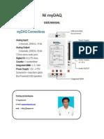 NI myDAQ documentation