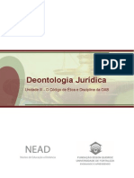 Disciplina Deontologia Unidade 03 MD