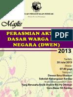 Buku Program Majlis DWEN