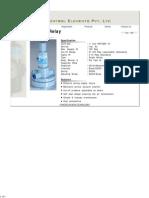 Air Lock Relay - Divya Control Pvt. Ltd