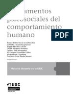 Fundamentos Psicosociales Del Comportamiento Humano UOC