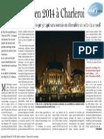 Le Soir - Pause fiscale en 2014 à Charleroi - 16.11.13