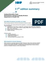 ICD10AM Summary