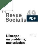 La Revue socialiste n°49 L'Europe