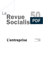 La Revue socialiste n°50 L'Entreprise