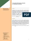 relação profissionap paciente e sindrome de burnout