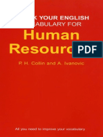 Check Your English Vocabulary for Human Resources[1]