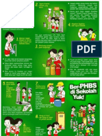 Leaflet Phbs Sekolah