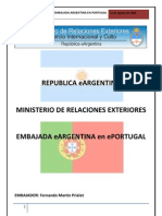 Informe embajada