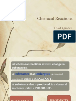 Chemical Reactions - 11-12