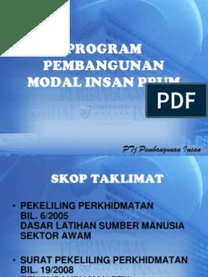 Rancangan Malaysia Ke 11 Bab 5 Pembangunan Modal Insan