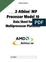 AMD Athlon MP Processor Model 10