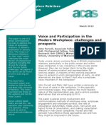 Voice and Participation in the Modern Workplace Challenges and Prospects
