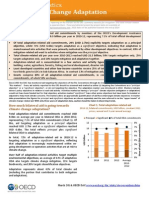 Aid to Climate Change Adaptation - OECD DAC statistics