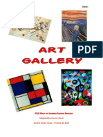 Art Gallery Worksheets