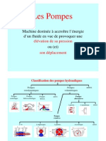 Classification Des Pompes