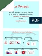 Classification Des Pompes