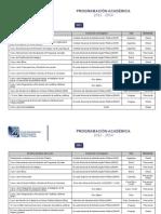Programa Academico 2012-2014 CLAD