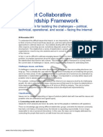 Internet Society Collaborative Stewardship Framework