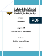 E-commerce Website Analysis
