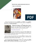 Origen Simon Bolivar