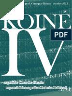 Koinè - il giornale dei Licei (october)