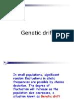 4.4. Genetic Drift