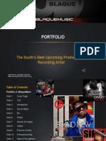 jblaquemusic portfolio