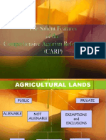 Salient Feature agrarian reforms