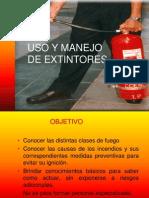 Capacitacion de Uso de Extintores