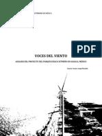 García Coyne, Voces del Viento