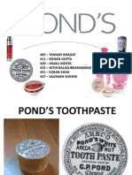 Moi-pond's Toothpaste Final