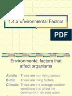 1.4.5 Environmental Factors