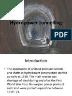 Hydropower Tunnelling